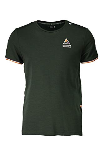 Maloja Multi Maillot de Sport Fonctionnel T-Shirt Vert reitbergm. 23211 Stretch (M)