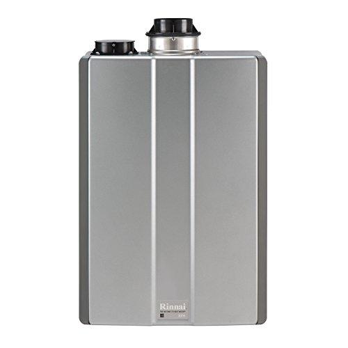 Rinnai RUR98iN Ultra Series Condensing Indoor Natural Gas Tankless Water Heater, 9.8 Max