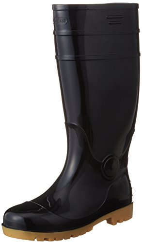 [AITOZ]アイトス 4437_010 29cm 長靴 鋼製先芯 耐油 3E ブラック