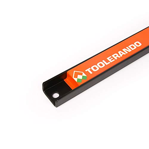 Toolerando Magnetleiste Magnethalter für Werkzeug, 3er Set, 1x 48 cm, 1x 37 cm, 1x 23 cm