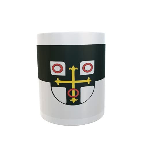 U24 Tasse Kaffeebecher Mug Cup Flagge Neckarsulm