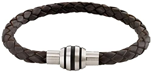 Boccia Damen Armband Titan Leder 21.0 cm 0347-0921