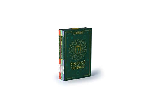 Biblioteca Hogwarts (edición pack): Animales fantásticos y dónde encontrarlos | Quidditch a través de los tiempos | Los cuentos de Beedle el bardo: 504002 (Harry Potter)