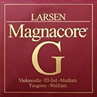 Larsen Magnacore 4/4 Cello G String - Tungsten Wolfram - Medium [並行輸入品]