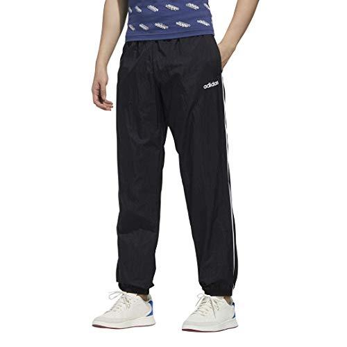 adidas M FAV TS TP WV Track Pantalones para Hombre, Hombre, Pantalones de chándal, GVC37, Negro/Blanco, Small
