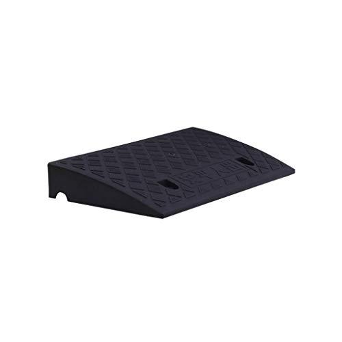 XUZgag - Almohadilla triangular antideslizante de plástico portátil para el hogar, motocicleta, coche, cuesta arriba, paspartú de hospital, banco, rampas de umbral de 5 cm/7 cm/11 cm, almohadilla segura para cuesta arriba, plástico, negro, 50*27*7CM