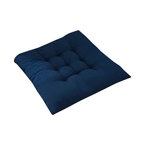 Roselan Sitzkissen Kissen Stuhlkissen Auflage- für Innen- und Außenbereich geeignet, Sitzpolster Auflage für Haus und Garten Sitzauflage 40x40 cm