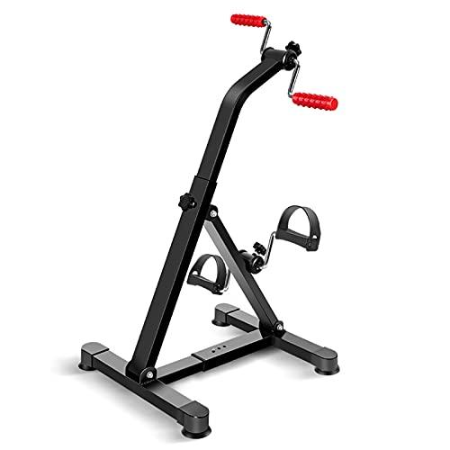 Pedal ejercitador bicicleta mano brazo pierna y rodilla vendedor ambulante equipo de fitness ajustable para personas mayores, hogar ancianos ejercicio máquina de rehabilitación de extremidades superio