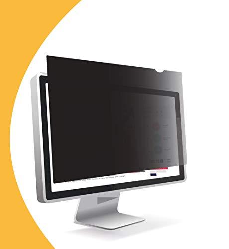 Olnema Computer & PC Monitor Blickschutz Folie I Sichtschutz Folie I Desktop Privacy Filter I Blickschutzfilter I Anti-Spy Folie 22.0 Zoll (16:10) - 474x296mm Breitbild