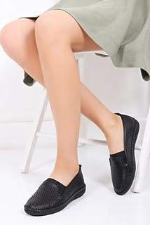 TARÇIN Hakiki Deri Günlük Kadın Ayakkabı TRC119-2303