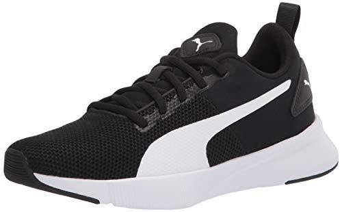 PUMA Flyer Runner - Zapatillas deportivas para hombre, Negro (Negro/Blanco), 39.5 EU