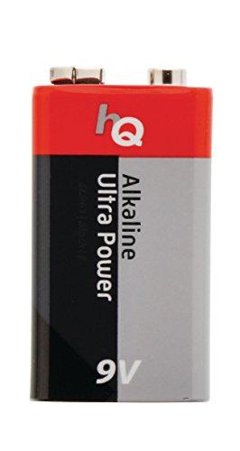 Eurosell - 5 Stück 9V Block Alkaline Batterie - zb für Rauchmelder etc. 9V Batterien - nicht...