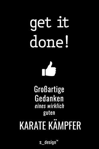 Notizbuch für Karate Kämpfer: Originelle Geschenk-Idee [120 Seiten kariertes blanko Papier]