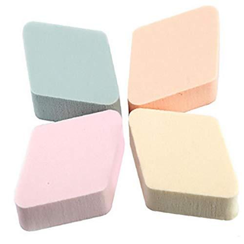 4piece / Pack Maquillage Poudre Éponges Beauté Blender Mousse Cosmétique Applicateur Visage Eponges Puffs Pour Tous Les Types De Peau (aléatoire)