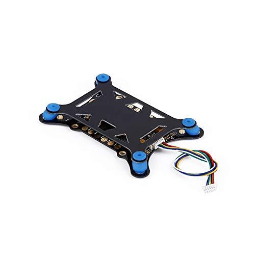 HUANRUOBAIHUO-HAT 5 in 1 Dämpfungsplatte + ESC Energieverteiler + 5V 12V BEC + Strom/Spannung Sensor + Power Module for Pixhawk APM 2.6 2.8 Quadrocopter Zubehör
