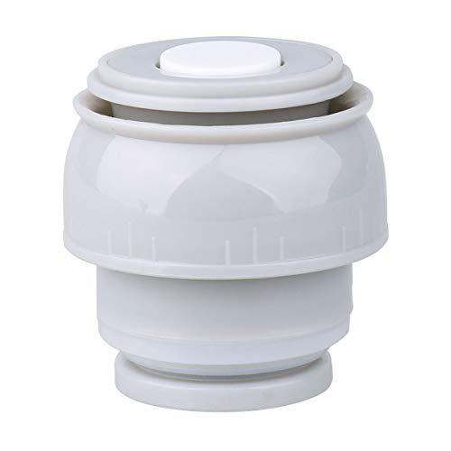TiaoBug Isolierflasche Deckel Thermosflasche Outdoor Flaschen Ersatzdeckel auslaufsicher Trinkflasche Reise Cup Mug Becher 4.5cm/5,2 cm Durchmesser Grau&Weiss B Durchmesser 4.5cm