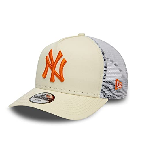 New Era York Yankees MLB League Essential White 9Forty Kids A-Frame Adjustable Youth Cap - Youth