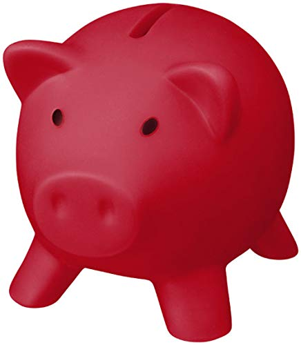 noTrash2003 - Hucha, para las vacaciones, con forma de cerdito, Piggy Miss, distintos colores