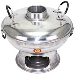 Shabu Hot Pot Tom Yum Coconut Soup Ice Cream Stainless Steel Bowl Asian Decorate Cookware Picnic Party