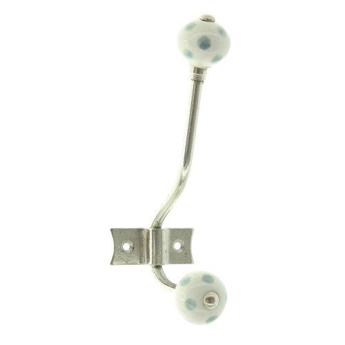 Unbekannt Crochet Double Grey Dots 42 White en métal