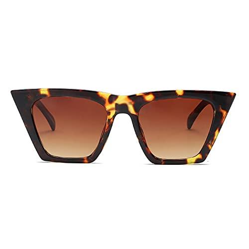 DAIDAICDK Gafas de Sol rectangulares para Mujer y Hombre Gafas de Sol con gradiente Coloridas Gafas de Viaje para Exteriores Accesorios para Coche