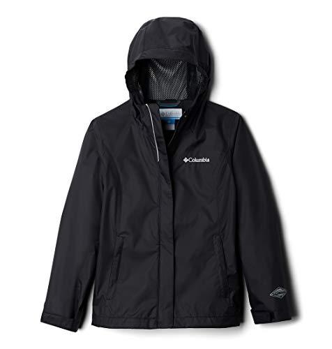 Columbia Girls' Big Arcadia Jacket, Black, Large