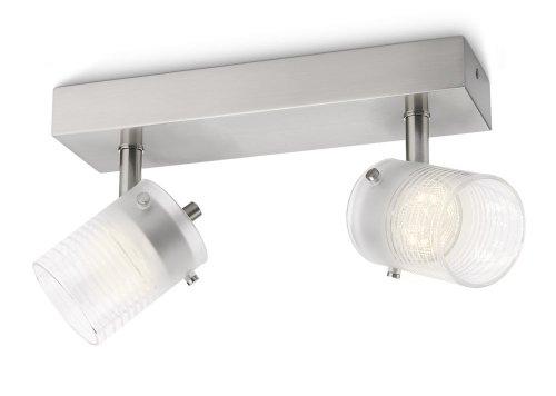 Philips Toile Barra con Faretti a LED, Bianco