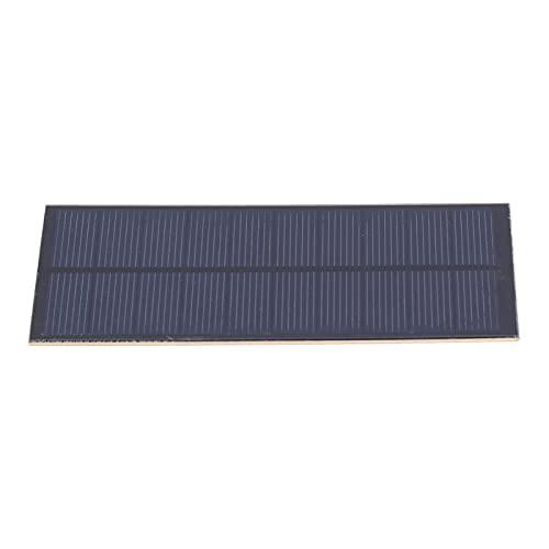 KUIDAMOS Pannello fotovoltaico, Pannello Solare di Ricarica Fai-da-Te per Applique da Parete a Batteria al Litio da 3,7 V