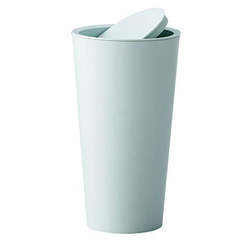 NA swh5 Mini cubo de basura pequeño de escritorio basura papelera reciclada de sobremesa cubo de basura para coche Oficina en casa (GN)
