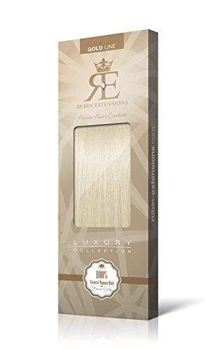 Extensions Cheveux Humains   Extensions de cheveux Frange   Cheveux Bangs Extensions   100% Remy Cheveux Blond Clair par Rubin Extensions