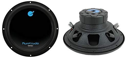 vm audio car speakers Planet Audio AC12D 12-Inch 3600W Subwoofers (Pair)