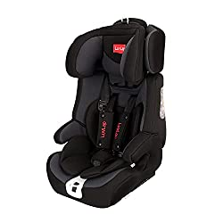 LuvLap Active, ISOFIX Car Seat for baby & kids from 9 Months to 12 Years (upto 36 Kgs) (Grey & Black),LuvLap,18729,CarSeat,Outdoor