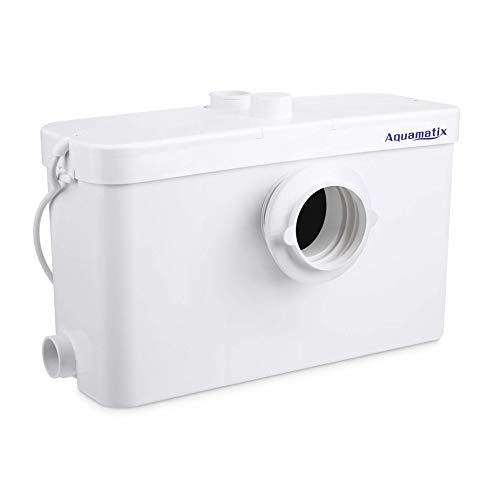 Aquamatix Excellencia 3 - Hebeanlage Abwasserpumpe Haushaltspumpe Mit Edelstahlmotor 500W Leise