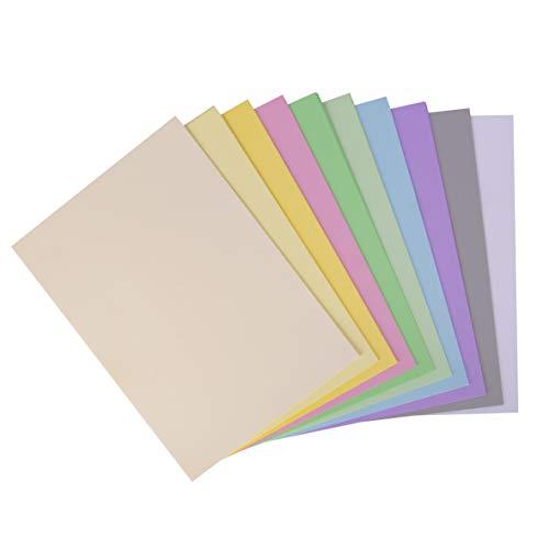 Apli - Cartoncini Colorati Set da 50 Pezzi, A4, Multicolore