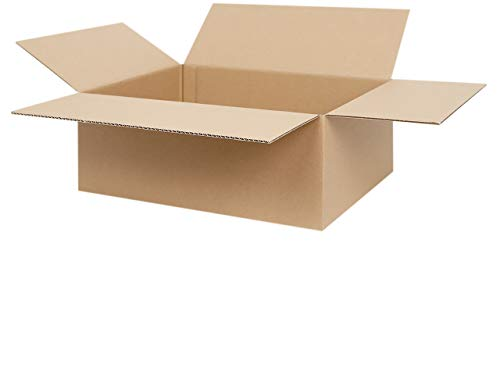50 Faltkartons 400 x 300 x 150 mm | Versandkarton geeignet für Versand mit DPD, GLS und Hermes | zwischen 25-1000 Kartons wählbar