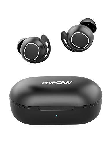 Mpow M7 ワイヤレス イヤホン IPX7防水 AACコーデック対応 親子機入れ替え機能 Bluetooth 5.0+EDR搭載 自動...