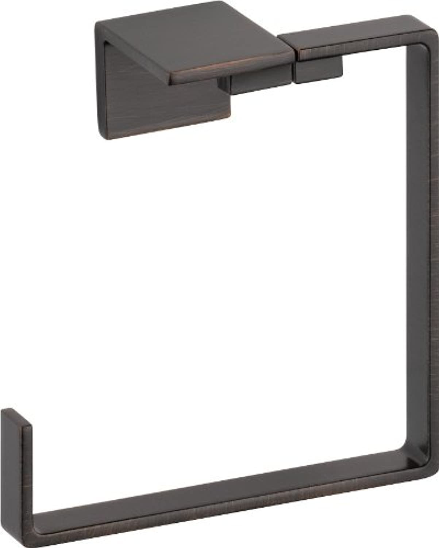 Delta Faucet 77746-RB Vero Ring Towel Ring, SpotShield Venetian Bronze