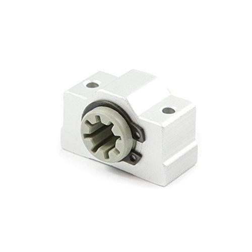 2 Stück SCV8i Lagerblock mit Igus DryLin® RJ4JP Linearlager, Gleitlager