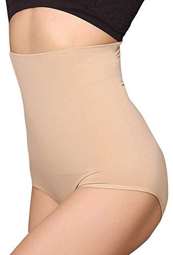 ANGOOL Damen Miederslip Butt Lifter Shaper figurenformend Shapewear Schlichte Taillenformer mit Bauch-Weg-Effekt