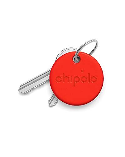 Chipolo ONE 防水Bluetoothキーファインダー レッド