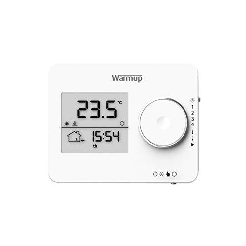 Raumthermostat Weiß Temperaturregler f. elektrische Fussbodenheizung Fernfühler