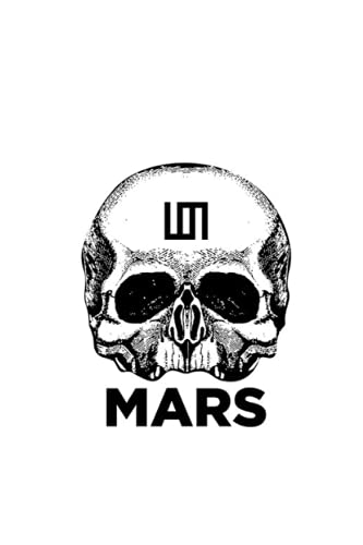 mars: 30 second to mars , Notebook With Elegant Cover - 6x9 Inches - Fill It Up With Your Creative Ideas