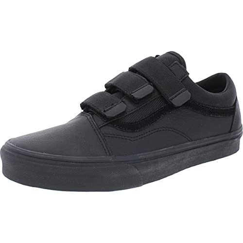 Vans Mens Old Skool V Lifestyle Skateboarding Shoes Black 10.5 Medium (D)