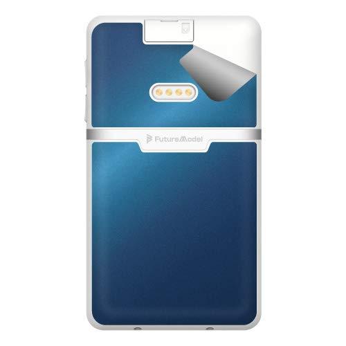 スキンシール NichePhone-S 4G 【グロス・メタリックブルー】