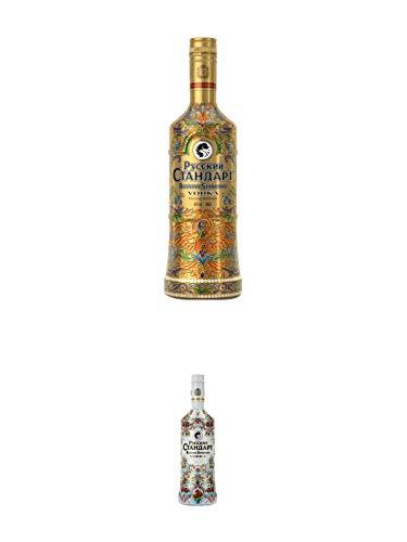 Russian Standard SPECIAL EDITION - GOLD - Vodka 0,70 Liter + Russian Standard SPECIAL EDITION - SILBER - Vodka 0,70 Liter
