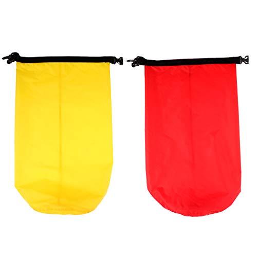 lahomia 2Pcs 5L Dry Bag Saco Impermeable Bolsa de Equipo Seco para Kayak Rafting