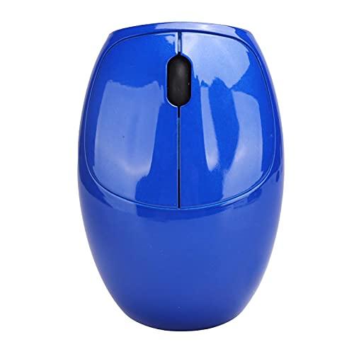 Ratón Inalámbrico para Computadora Portátil con Receptor USB, 2.4Ghz/ 3 Botones/Ratones ópticos 1200DPI para Computadoras Escritorio/Computadoras Portátiles/Televisores Inteligentes(Azul)