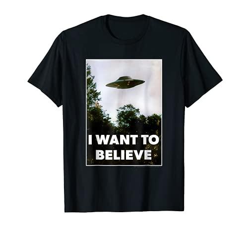 Alien UFO Hunter Shirt I Want To Believe UFO Day T-Shirt