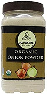 Naturevibe Botanicals Organic Ground Onion Powder 1lb, Gluten-Free & Non-GMO | Allium Cepa | Skin & Hair Care