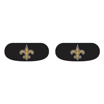 Party Animal New Orleans Saints Team Eye Black Strips- 3 Pairs